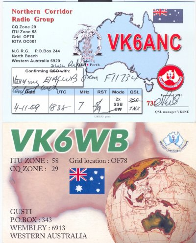 VK6 ---AUSTRALIE OCCIDENTALE