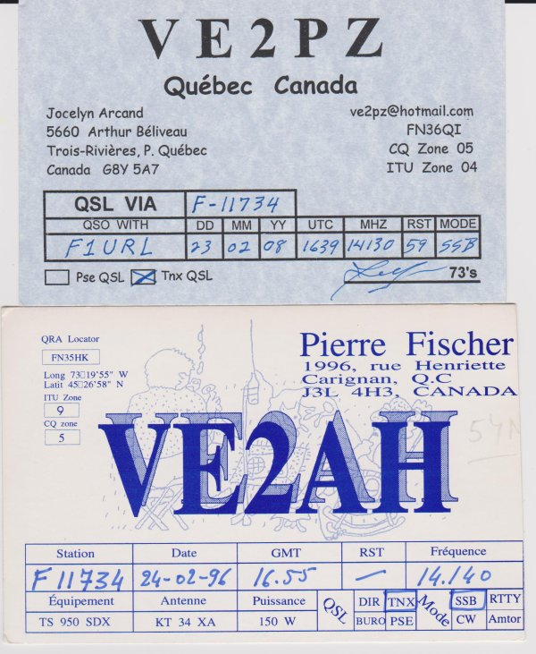 VA2 - VE2 - QUEBEC