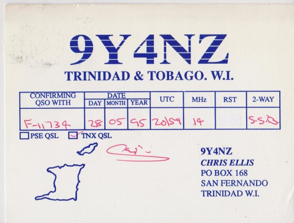 TRINIDAD I.  ET TOBAGO I.