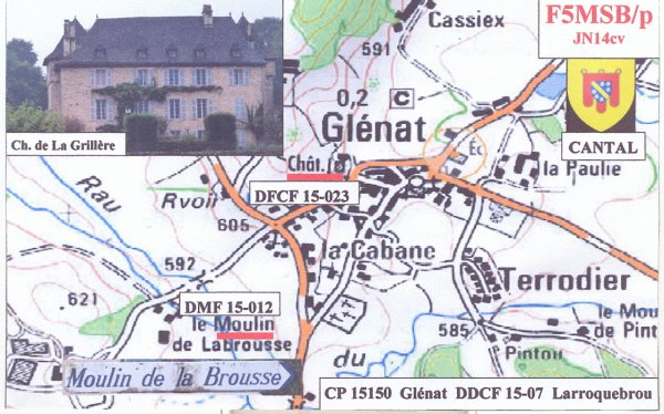 DEPARTEMENT 15 CANTAL