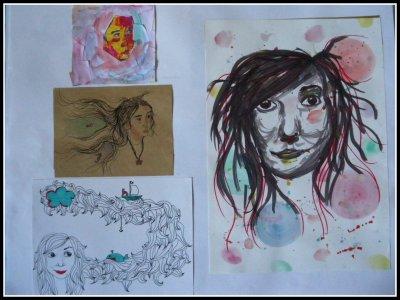 Autoportraits...