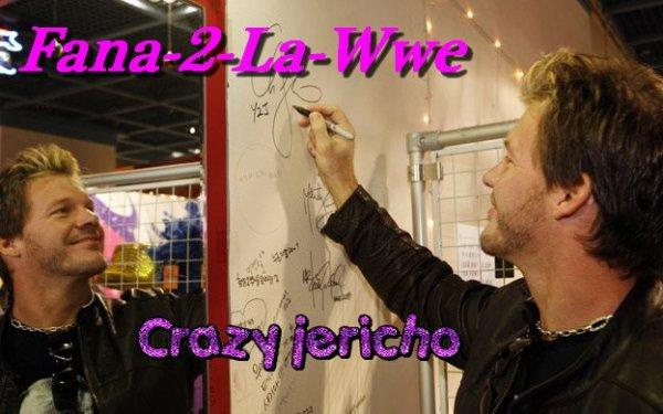 Bio de My Wrestler pref jai nommé Chris Jericho & Son palmarés!!!