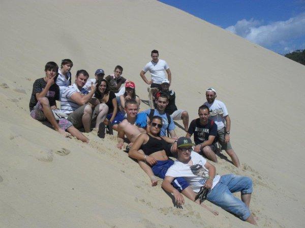 dune du pillat avec eux :)