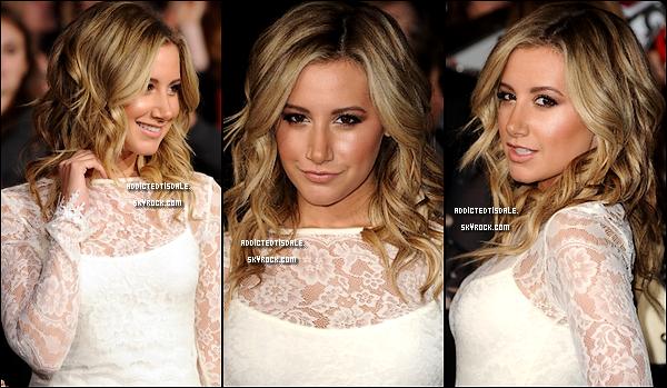14.11.11 : Ashley était présente à la Première de Saga Twilight à Los Angeles.