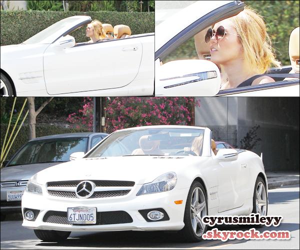 Candids Miley : 5 Juillet et du 6 Juillet