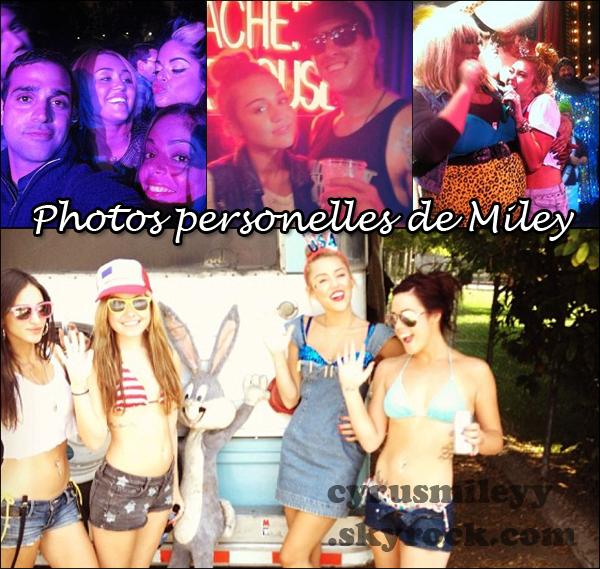 Photo personnelle  de Miley.
