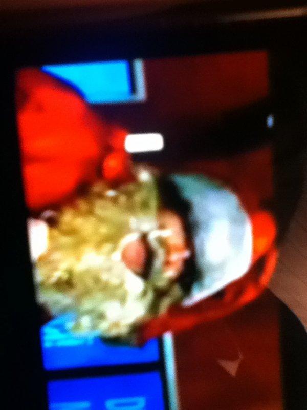 Garou en père Noël