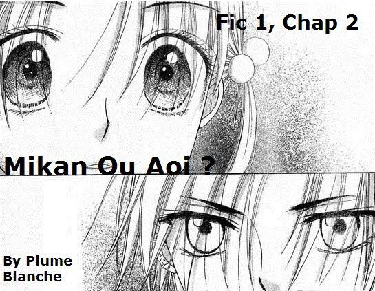 Fic 1, Chap 2, Mikan ou Aoi ?