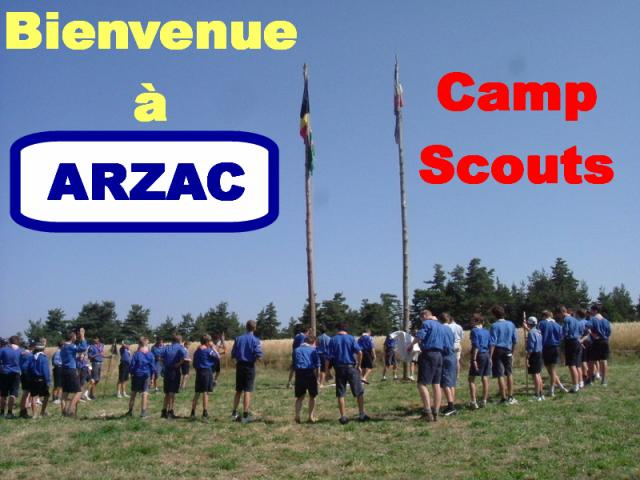 CAMP SCOUTS ARZAC