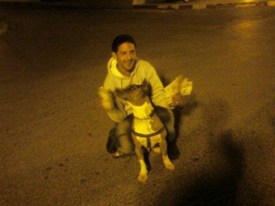 moi avec m pitbull