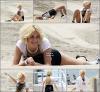 - 23 Juin  : Pixie sur une plage de Los Angeles, les cheveux courts, en train de réaliser un nouveau photoshoot . -