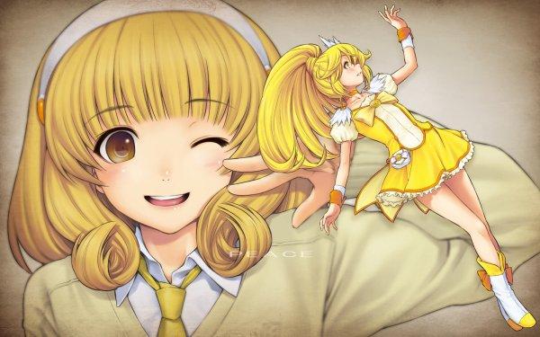 fille jaune sans transphormation