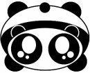 panda kawaii ><