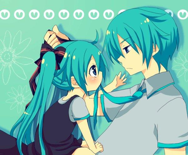 Miku avec Kaito