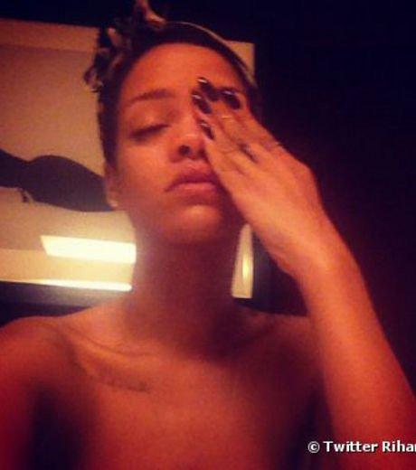 Rihanna: Elle poste encore une photo topless sur Twitter