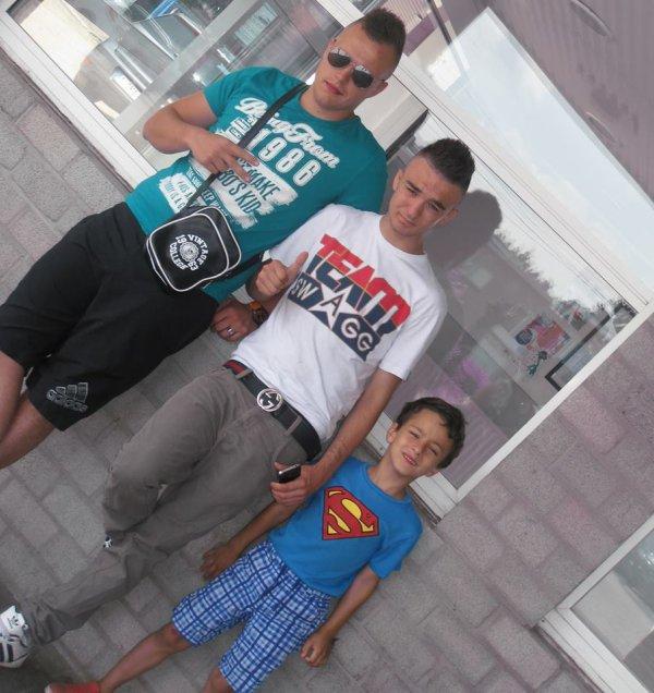 Eric , Moi & Le neveux♥