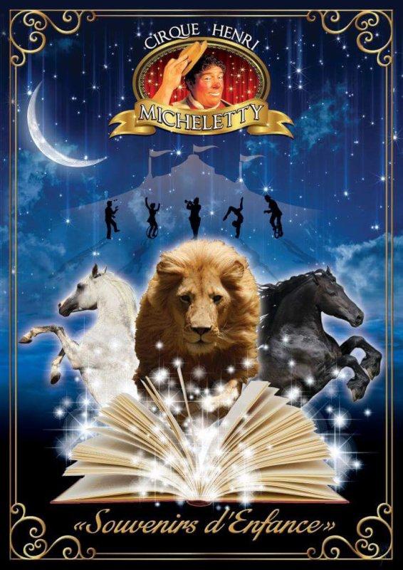 il arrive bientôt le grand cirque Henry micheletty a cherbourg  avec son tout nouveau spectacle