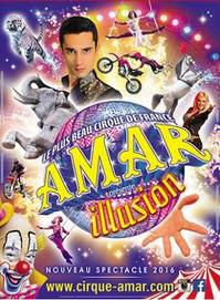 cirque amar a Cherbourg en août du 30 août au 4 septembre 2016