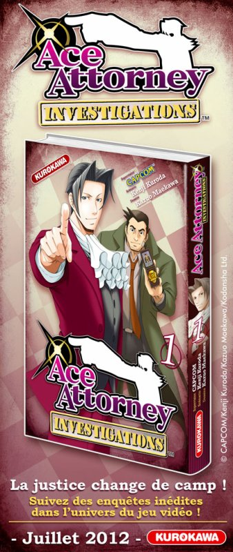 Ace Attorney Investigations: Manga