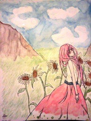 Mes débuts à l'aquarelle :)