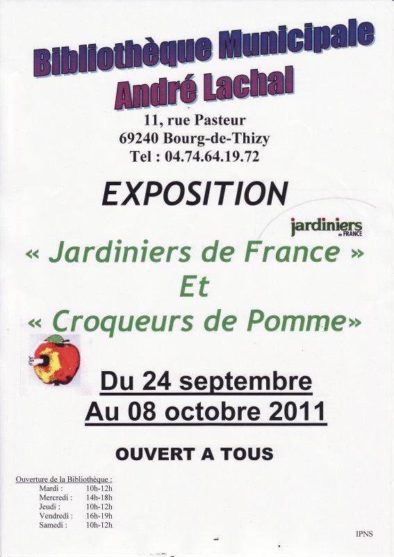 expo du 24 septembre au 08 octobre