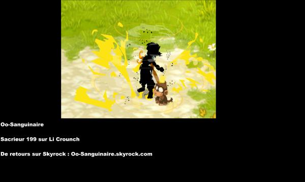 Oo-Sanguinaire, de retour sur Skyrock :D