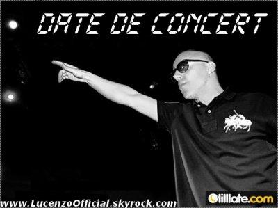 Date de Concert