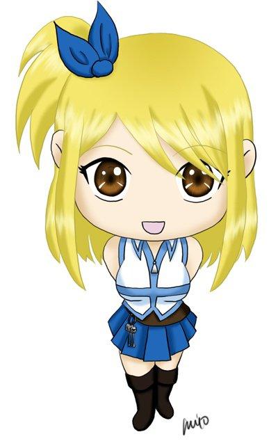 Chibi de Lucy