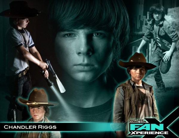 Carl grims ou Chandler Riggs