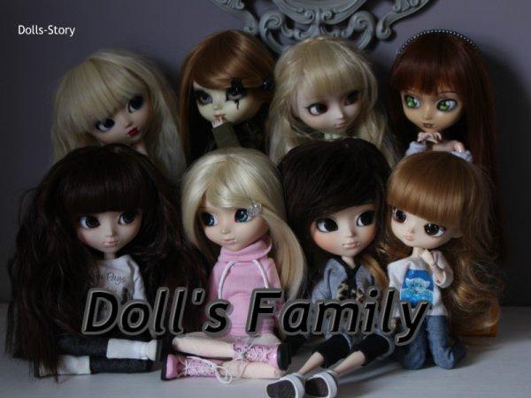 Family's Dolls