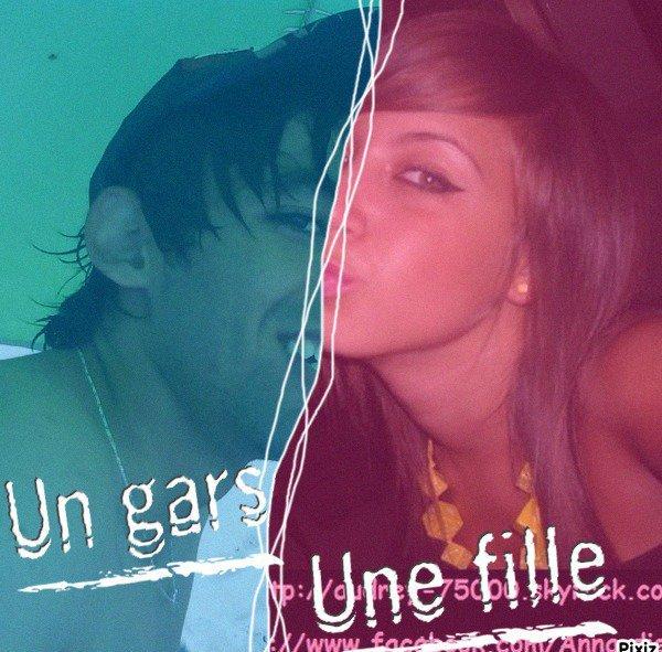 un gas et une fille ♥ _♥