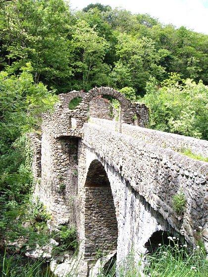 Le pont du diable Ariege