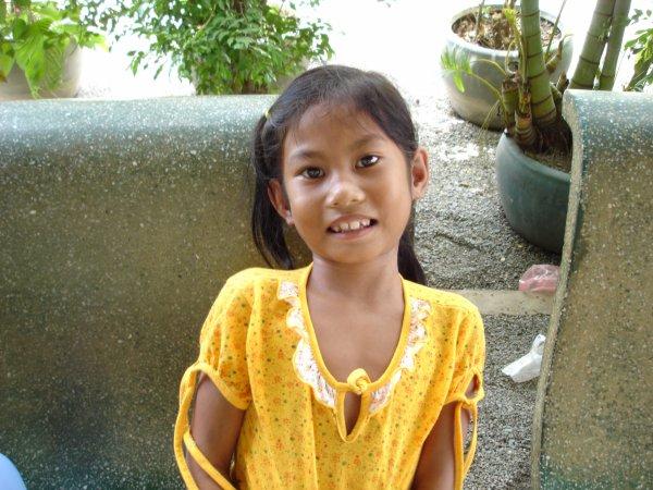 une jolie petite cambodgienne