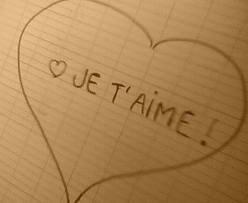 <3 Je T'aime!