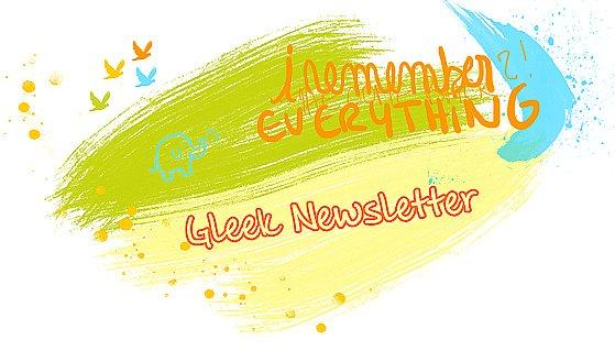 ✎ Gleek Newsletter ... ܤ