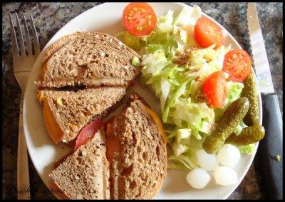 Croque Monsieur végétarien