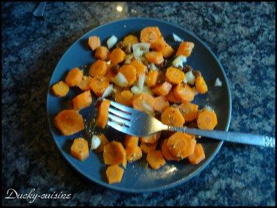 Salade de carotte à l'orientale