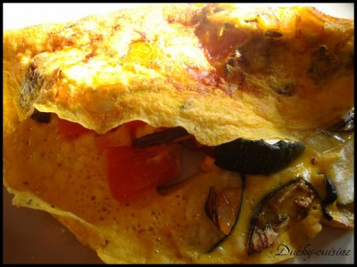 Omelette ratatouille