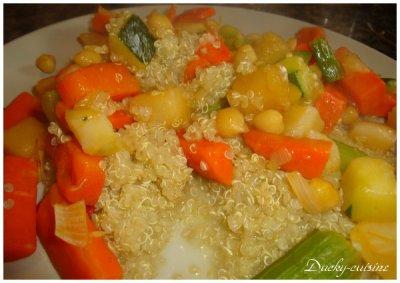 Quinoa façon couscous