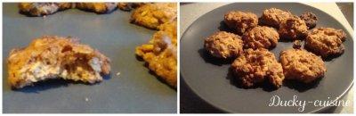 Mini cookies au beurre de cacahuète et flocons d'avoine