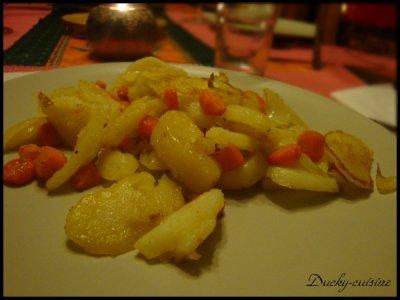 Légumes d'hiver épicés