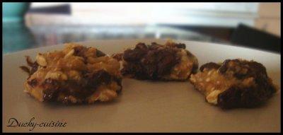 Cookies sans beurre ni oeufs aux pépites de chocolats