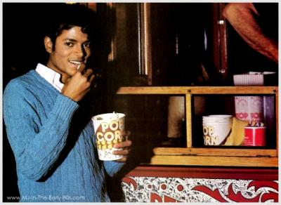 MJ AND POP CORN