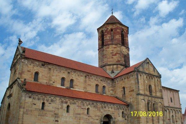 Église romane Saint Pierre et Saint Paul à Rosheim