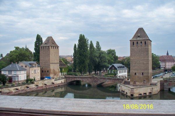 Visite dans Strasbourg....
