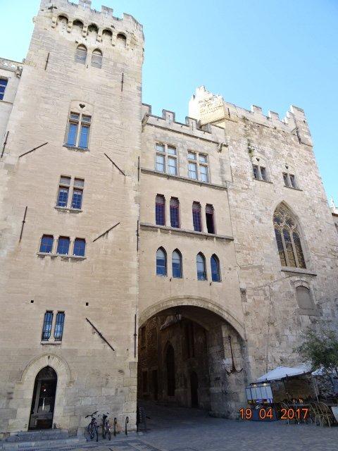 L'ancien Palais des Archevêques à Narbonne