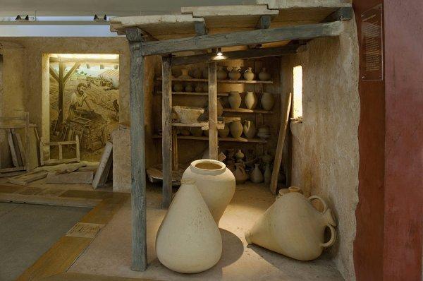 AMPHORALIS,musée des potiers Gallo-Romains
