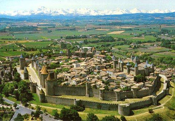 La cité de Carcassonne...1