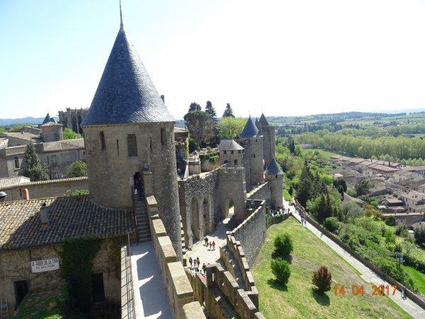 La cité de Carcassonne...3
