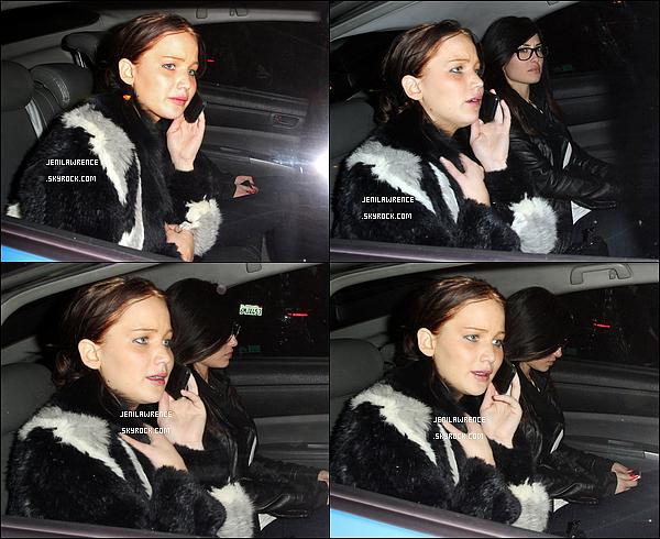 • 05/01/2013 Jennifer a été vue au Château Marmont Hôtel à Hollywood avec ses amies •